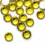 1440pcs Yellow Flat Back C..